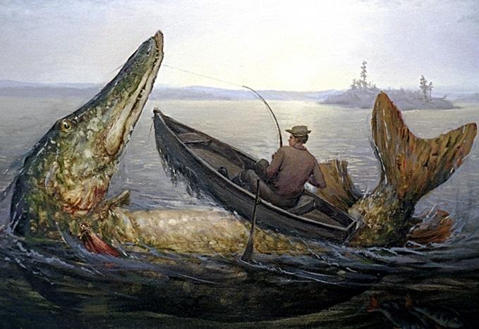 Самая большая щука в истории