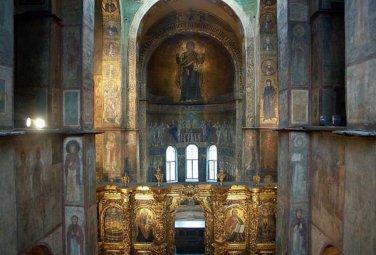 Волшебное зеркало из Софийского собора в Киеве